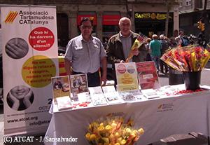 ATCAT a la Diada de Sant Jordi